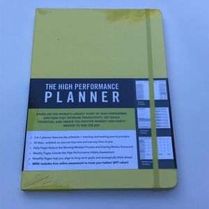 Other - The High Performance Planner by  Brendon Burchard